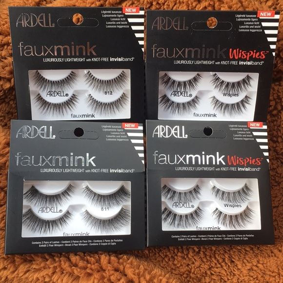 311ae22a583 Ardell Makeup | 4 Packs Faux Mink Lashes | Poshmark